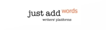 Just Add Words - Writers' Platforms - logo
